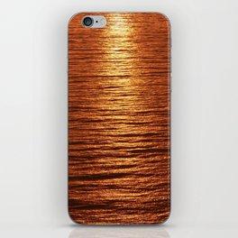 copper sea iPhone Skin