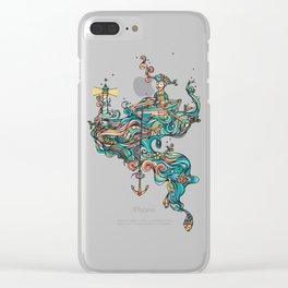 Non Dux Clear iPhone Case