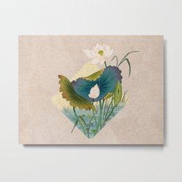 lotursflowers C : Minhwa-Korean traditional/folk art Metal Print