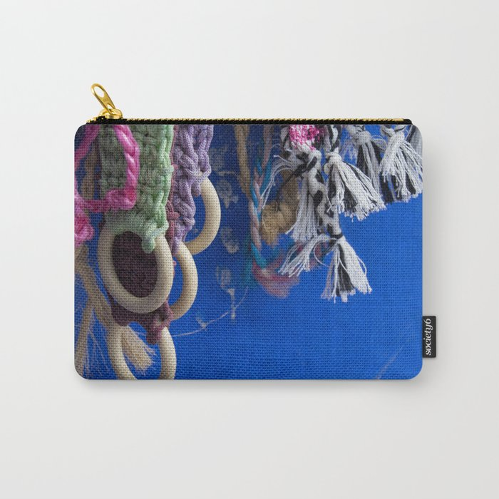 Chefchaouen Details III Carry-All Pouch