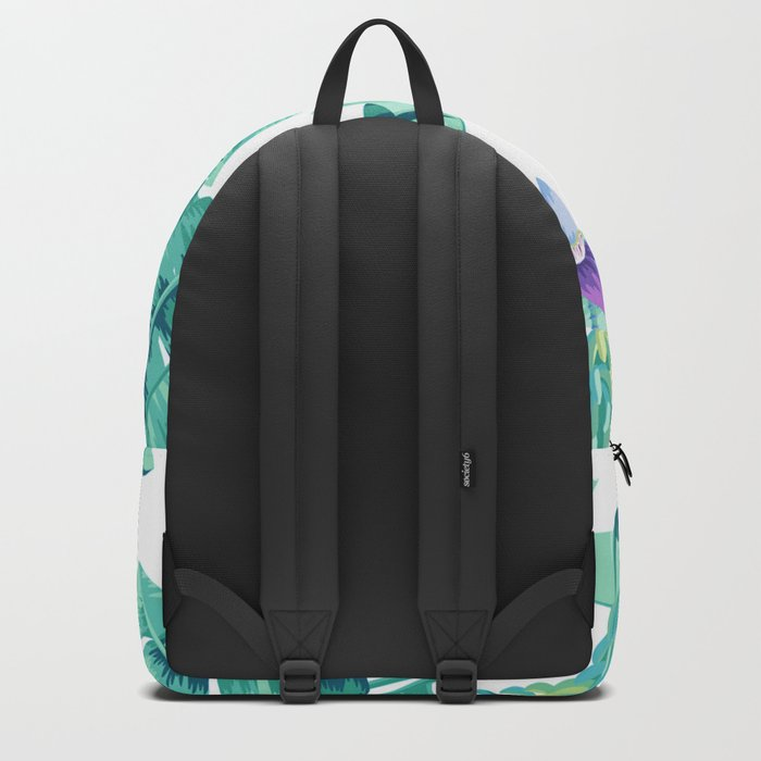 Banana leaf bloom Backpack