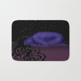 Nuit, The Lady of the Stars Bath Mat