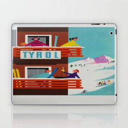 Vintage poster - Tyrol Laptop & iPad Skin