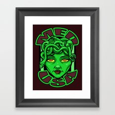 Madusa Framed Art Print