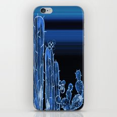 Painted Desert Blue iPhone & iPod Skin