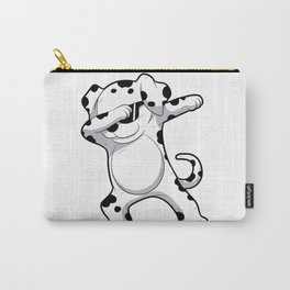Dabbing Dalmatian T Shirt Funny Dab Dog Carry-All Pouch