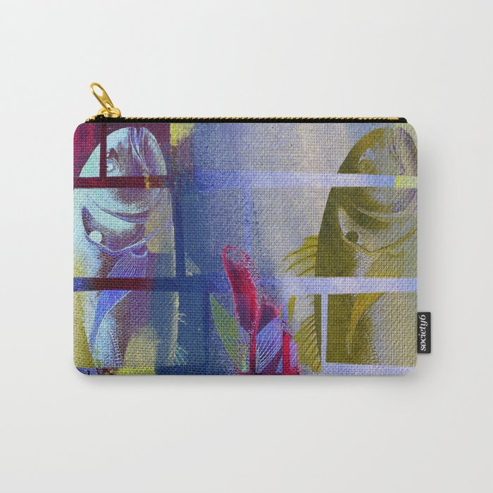 Fish Under Strong Radiation 3 Carry-All Pouch