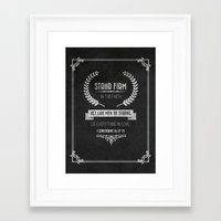 bible verses Framed Art Prints featuring 1 Corinthians 16 verses 13 and 14 Typographic Bible Verse by Chris Watts