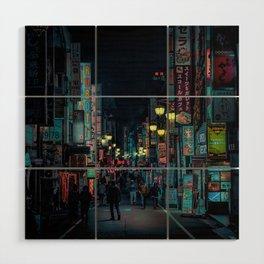 Tokyo Nights / Kabukicho Nights / Liam Wong Wood Wall Art
