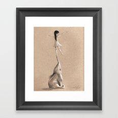 You Lift Me Up Framed Art Print