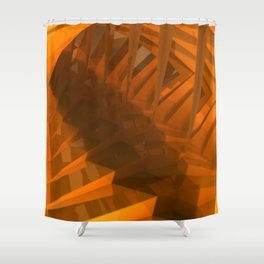Ordered Light Shower Curtain
