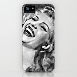 Rita Hayworth, Actress iPhone Case