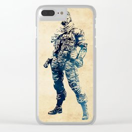 Venom Snake - Metal Gear Solid Clear iPhone Case