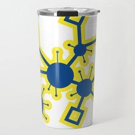 SciFi Circuitry Burst Travel Mug