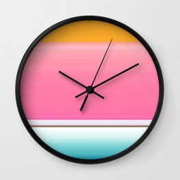 Going for the Kiss Wall Clock