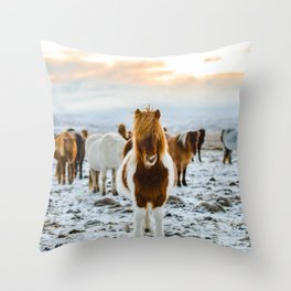 Nordic Wild Throw Pillow
