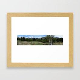 Tibble Fork Mountain Bike Trail Framed Art Print