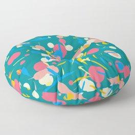 Paint splashes Floor Pillow