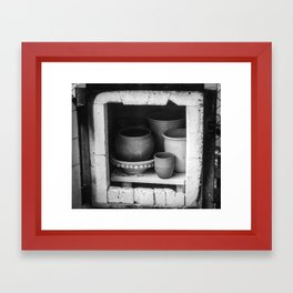 Together Through the Fire  Framed Art Print