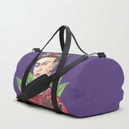 Frida Viva la vida Duffle Bag