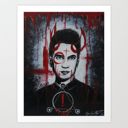 Pray for the Wicked Art Print