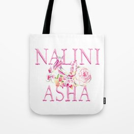 Nalini Asha Logo (blush) Tote Bag