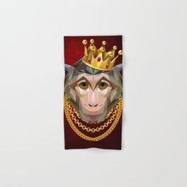 The King of Monkeys Hand & Bath Towel