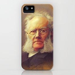 Henrik Ibsen, Literary Legend iPhone Case