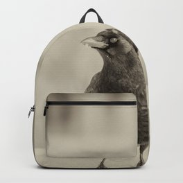 Betsy's Crow In The Snow Backpack