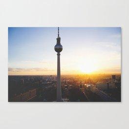 Berlin, my love Canvas Print