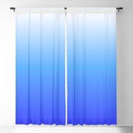 Aqua Ombre Blackout Curtain