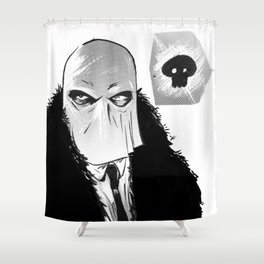 """""""I'm that bad mother f------ called Stagger Lee"""" Shower Curtain"""