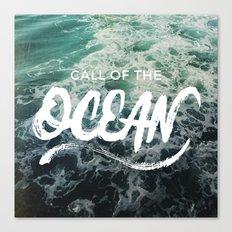 Call of the Ocean Canvas Print