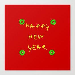 happy new year 12 Canvas Print