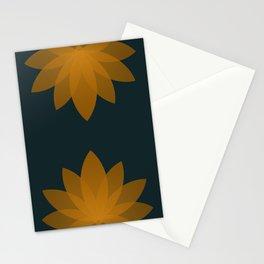 Minimal Lotus Flower XI Stationery Cards