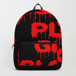 Give Blood Play Rugby Backpack