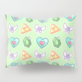 Legend of Zelda Pattern Pillow Sham