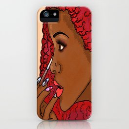 Melodies and Desires iPhone Case