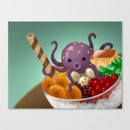 Halo Haloctopus Canvas Print