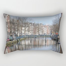 Canals of Amsterdam Rectangular Pillow
