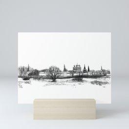 Iossio-Volotzky monastery SK0138 Mini Art Print