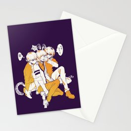 tfboys halloween Stationery Cards