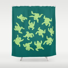 Froglets Shower Curtain