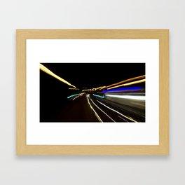 Street Light III - Shankill Framed Art Print