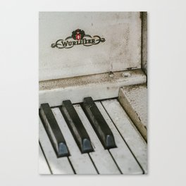 Music from the memories Canvas Print