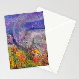 Rhino Wave Stationery Cards