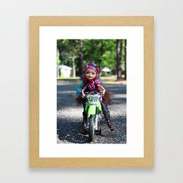 Briar Rides Framed Art Print