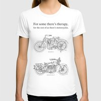 cafe racer T-shirts featuring NORTON COMMANDO 961 CAFE RACER. 2011 by Larsson Stevensem