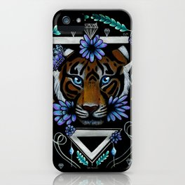Powerful Tiger  iPhone Case