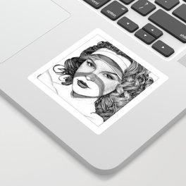 asc 775 - Le pare-soleil (The Caribbean Vampires) Sticker